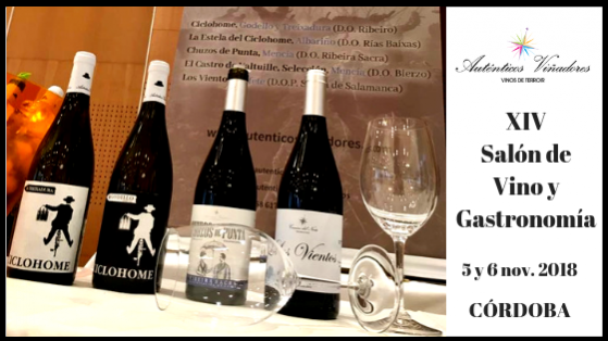 XIV Salón de Vino y Gastronomía 2018 en Córdoba