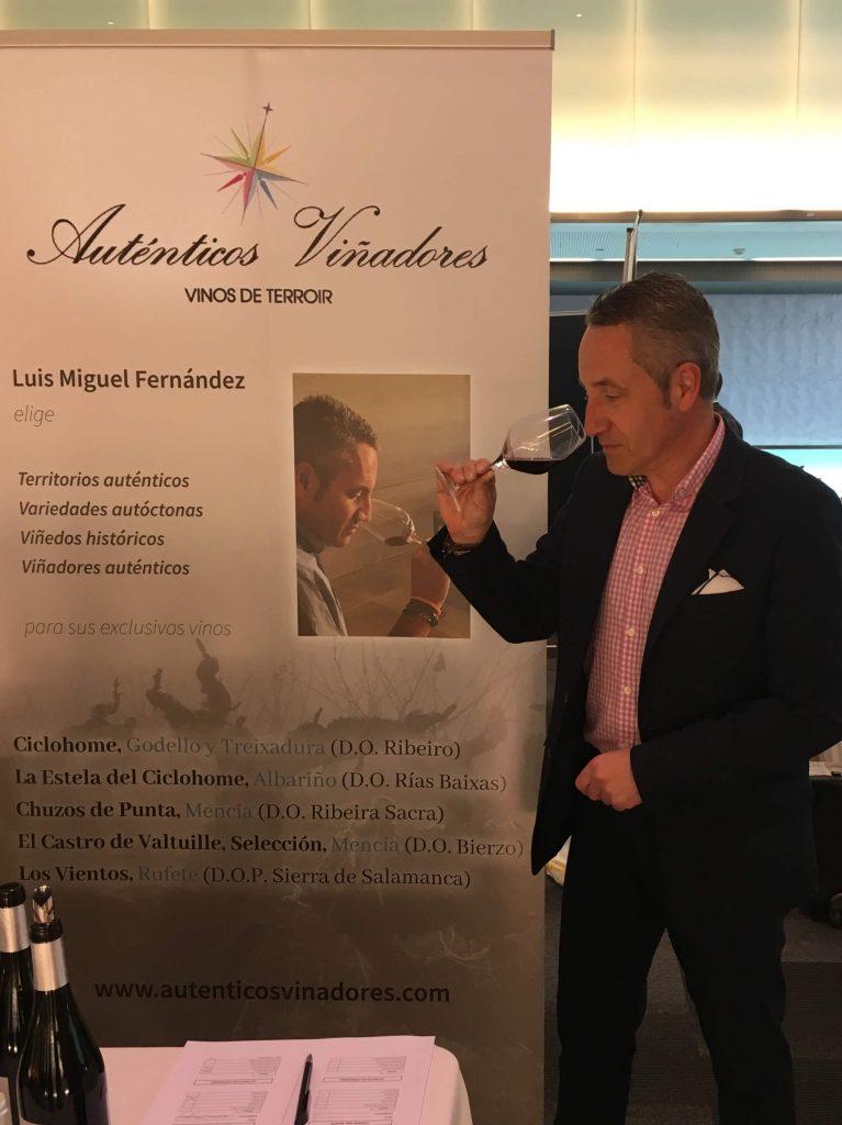 Auténticos Viñadores en el Showroom Diene 2019 en Tarragona