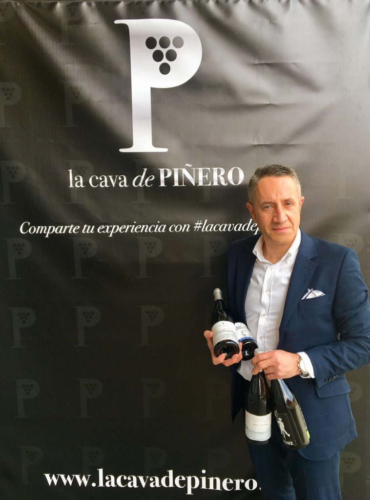 Luis Miguel Fernández, CEO de Auténticos Viñadores