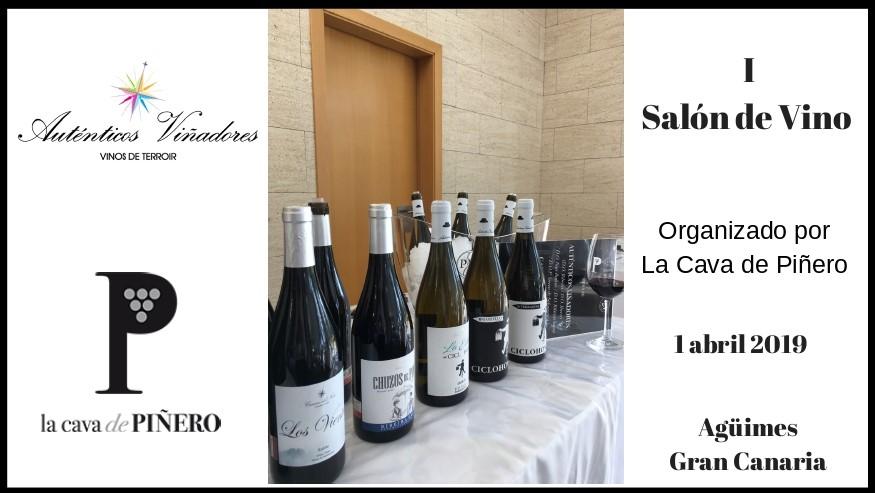 I Salón del Vino «La Cava de Piñero» 2019 en Canarias