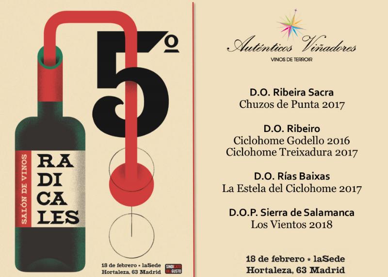 V Salón de Vinos Radicales 2019 en Madrid