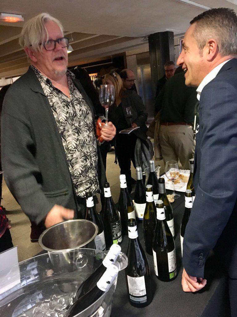 Federico Oldenburg, crítico de vino y uno de los organizadores del evento