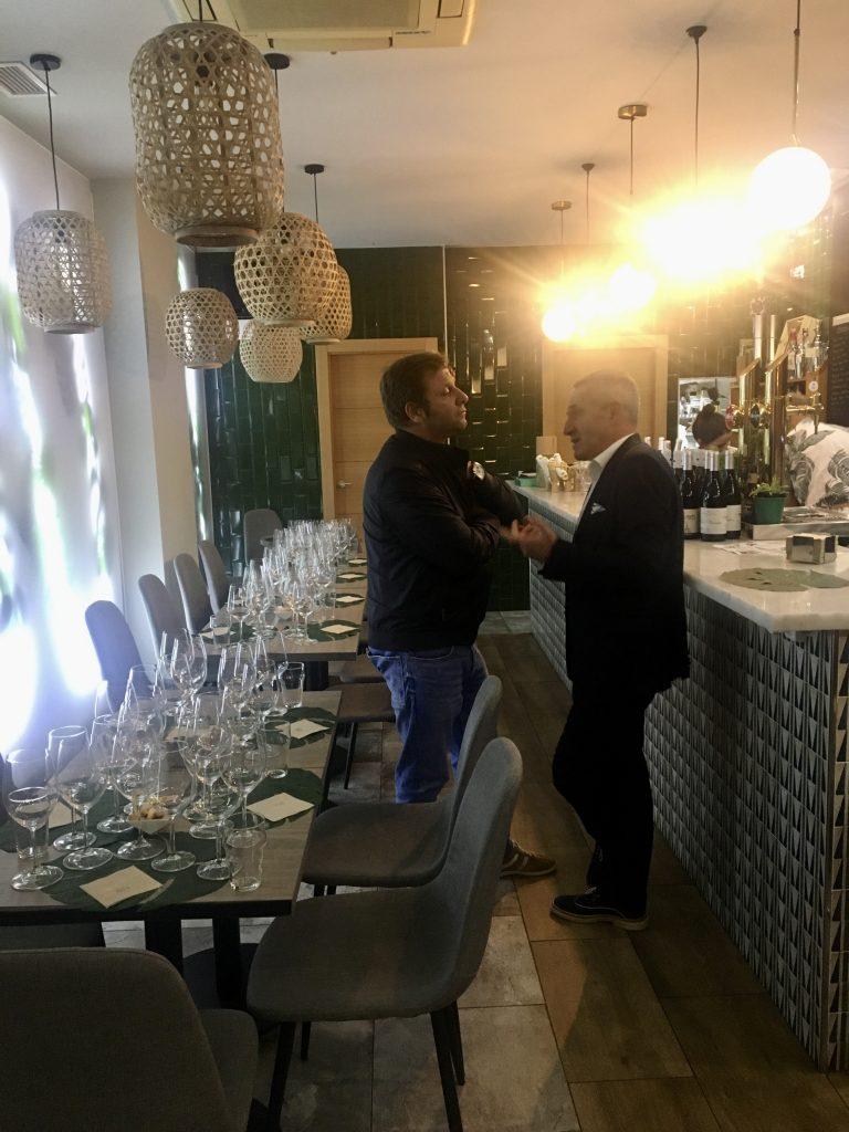 Cena Maridaje Autenticos Viñadores en Salamanca