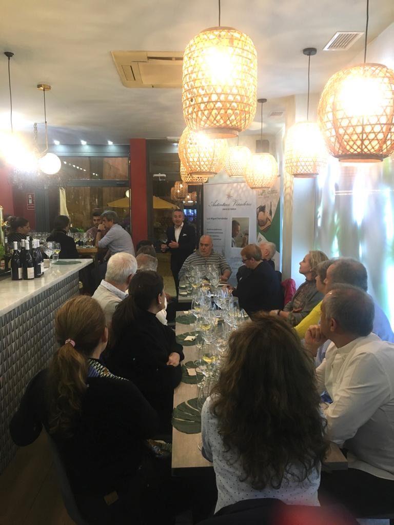 Cena Maridaje Auténticos Viñadores en Salamanca