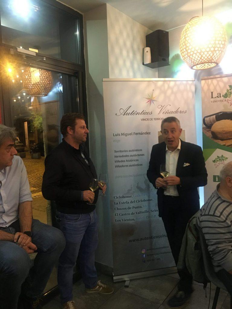 Cena Maridaje de Auténticos Viñadores en Salamanca