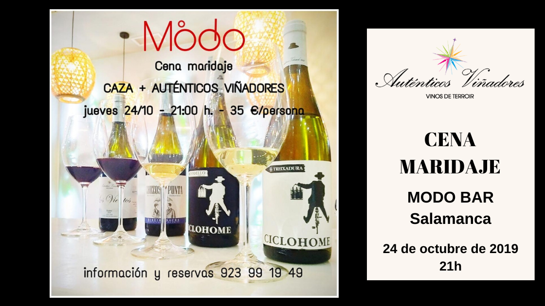 Cena Maridaje en Modo Bar, Salamanca