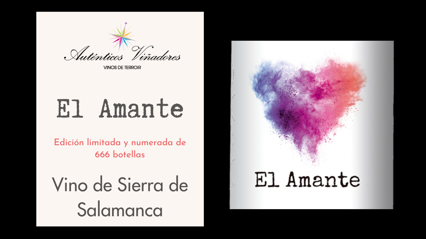 El Amante, el vino más TOP de la Sierra de Salamanca