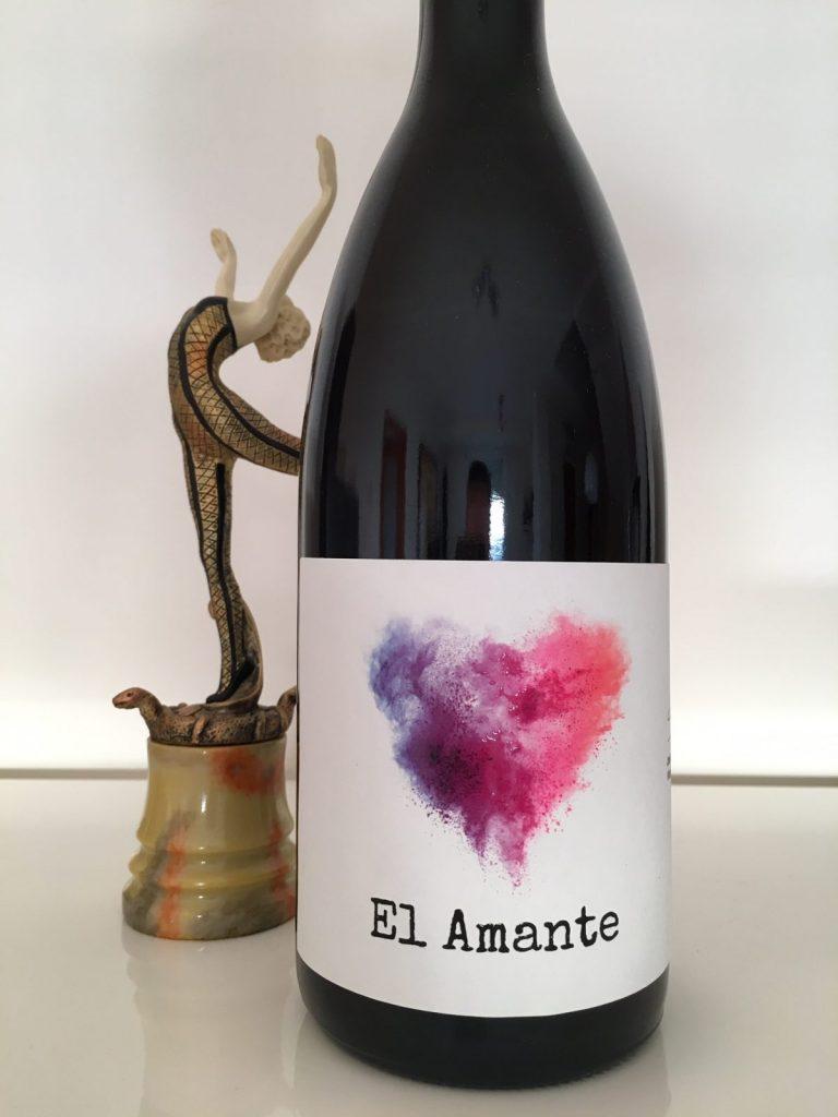 El Amante vino monovarietal rufete de Sierra de Salamanca