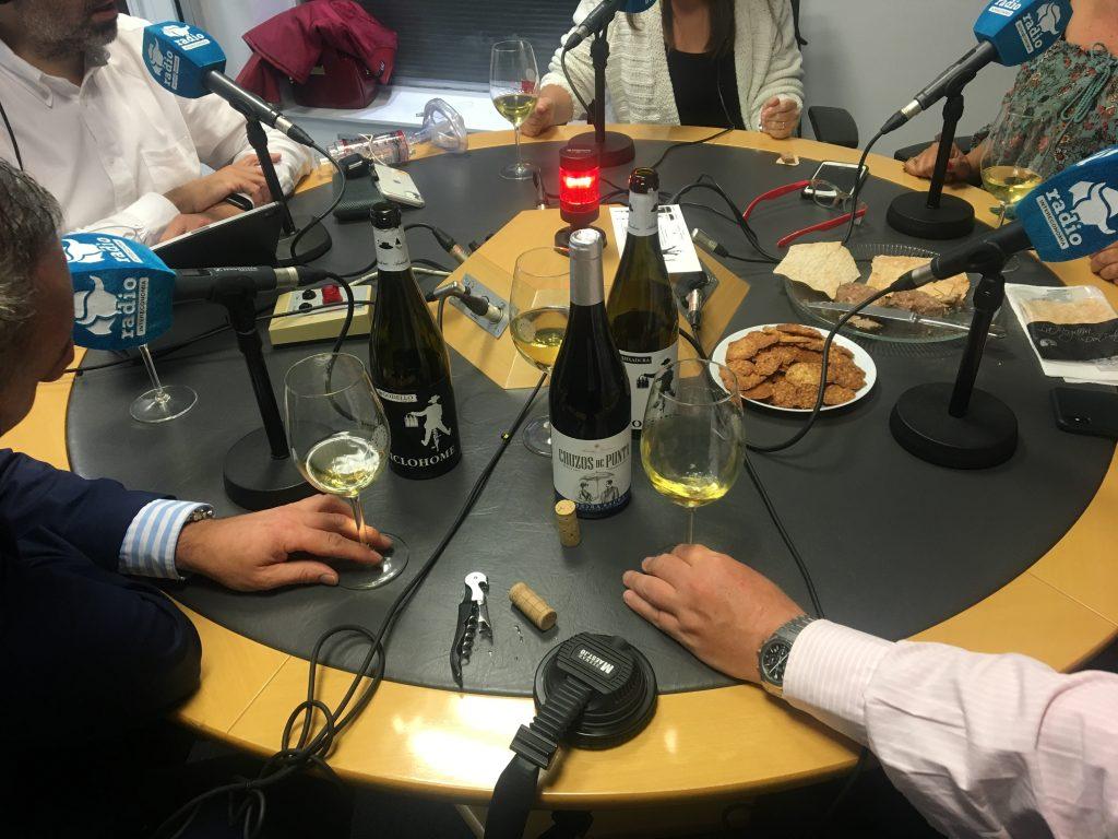 Autenticos Viñadores - Comer a Ciegas - Radio Intereconomia
